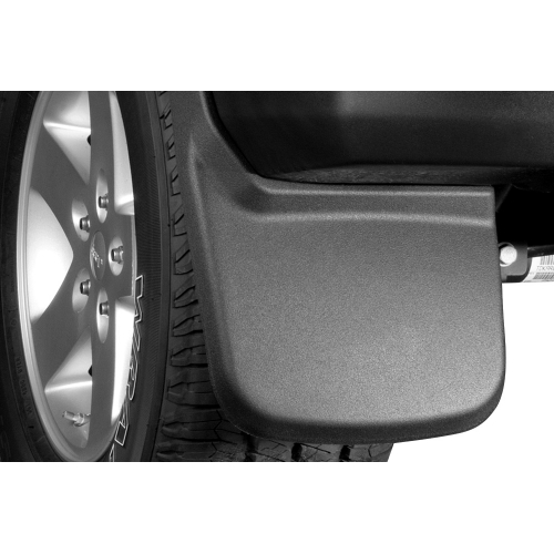 Husky Liners Custom Molded Front Mud Flaps   Ford F Without Oem Running Boards Flares
